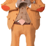 Figura Mayor Meanswell LazyTown PNG