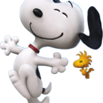 Figura Wood e Snoopy PNG