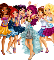 Amigas Lego Friends