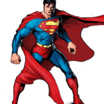 Pose Superman PNG