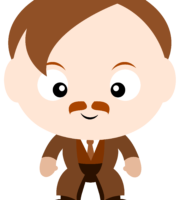 Professor Lupin Cute Harry Potter PNG
