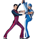 Robbie Rotten Sportacus LazyTown PNG
