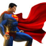 Superman Ajoelhado PNG