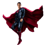 Superman Flying PNG