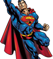 Superman Strong PNG