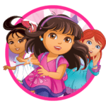 Tag Dora and Friends PNG