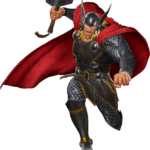 Thor Correndo PNG