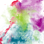 Colorful Ink PNG