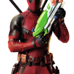 Deadpool PNG com fundo transparente