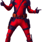 Figura de Deadpool PNG