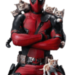 Gatos Deadpool PNG