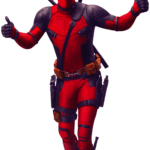 Jóia Deadpool PNG