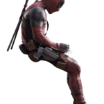 Pensando Deadpool PNG