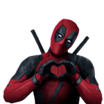 Personagem Deadpool PNG