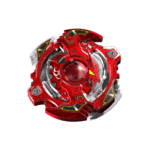 Red Spinning Beyblade PNG