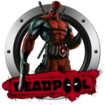 Super Logo Deadpool PNG