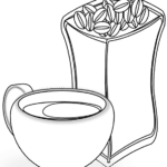 White Coffee PNG