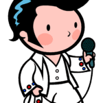 Cartoon Elvis PNG