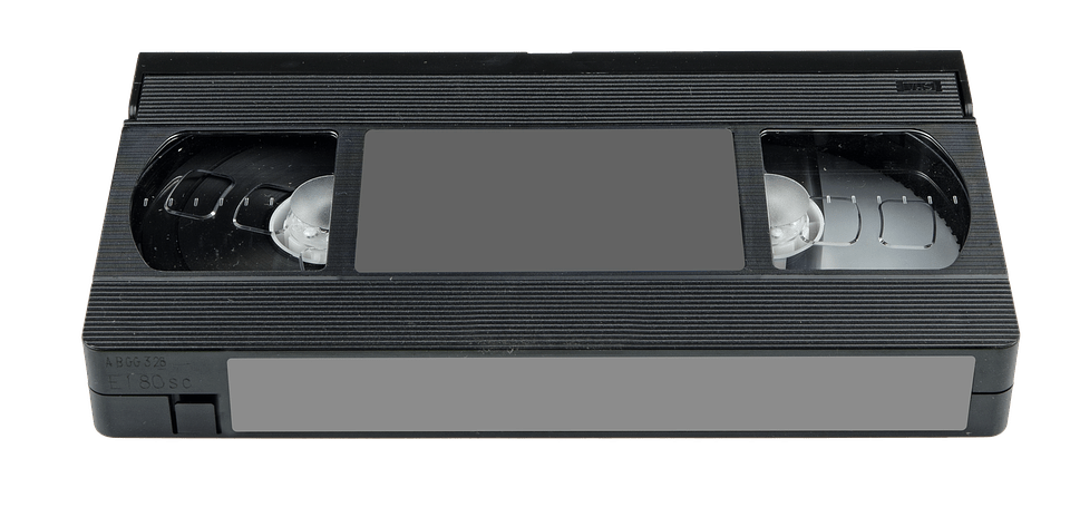 Fita VHS PNG