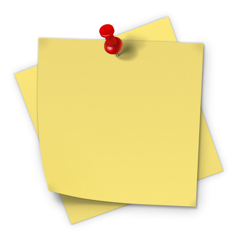 Post-it PNG