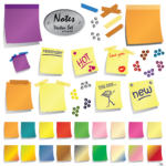 Paper Post-it PNG