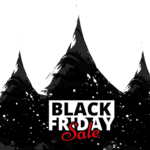 Cartaz Black Friday PNG