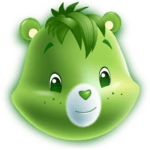 Verde Care Bears PNG