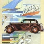 Ardita Frost Old Car Poster