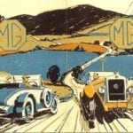 Figura MG Old Car Poster