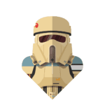 Arte Camisetas Sand Trooper