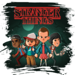 Arte Camisetas Stranger Thing