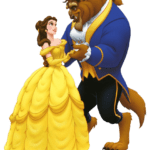 Clip Art Beauty And The Beast PNG