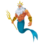 Download King Triton Trident PNG