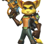 Figura Ratchet Clank PNG