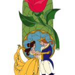 Pintura Beauty And The Beast PNG