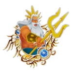 Sticker King Triton Trident PNG