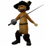 Sticker Puss in Boots PNG