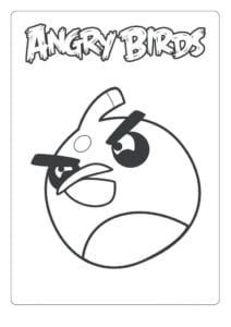 Desenhos para Colorir - Terence – Angry Birds