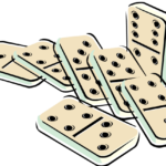 Sticker Dominoes Game PNG