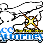Logo Ace Attorney PNG