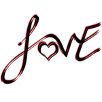 Free Love Text PNG