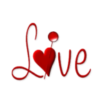 Picture Love Text PNG