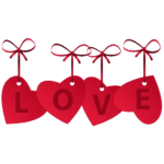 Tag Love Text PNG