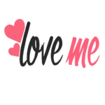 Word Love Text PNG
