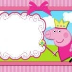 Convite Peppa Pig 105 PNG