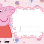 Convite Peppa Pig 98 PNG